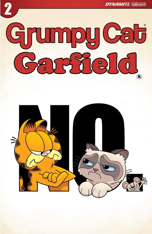 Grumpy Cat - Garfield #1-3 (2017) Complete