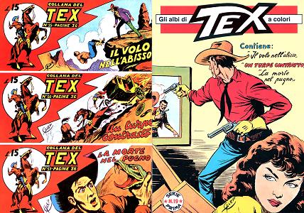 Gli Albi di Tex a Colori - Serie I - Numero 19 (1997) - ITA