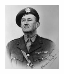 Teniente Coronel Charles Vaughan. Director del Centro de Formación de Comandos